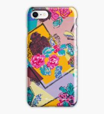 Houses and Flowers iPhone Case/Skin
