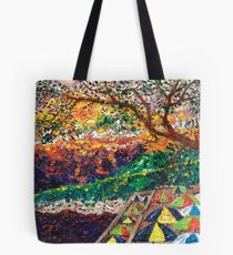 Oasis Sunset Tote Bag