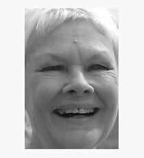 Dame Judi Dench number 5 Photographic Print
