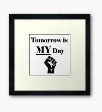 My Day Framed Print