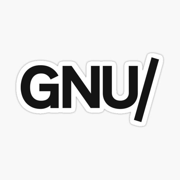 GNU/ Sticker