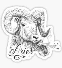 Aries - The Ram  Sticker
