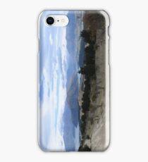 Lake Wanaka as seen from Mount Iron iPhone Case/Skin