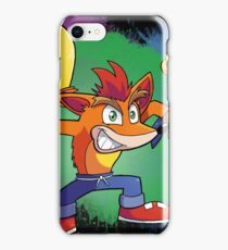 Crash Comback iPhone Case/Skin