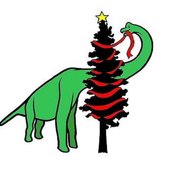 Brachiosaurus Christmas Tree by Clownmower