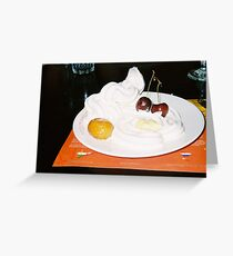 And for pudding we had: Greeting Card
