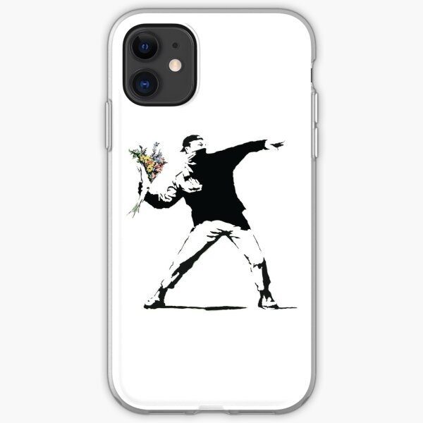 Flower man - Street art iPhone 11 case