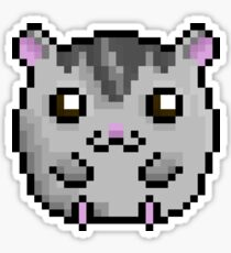Cute Hamster! (Grey Coloured) Sticker