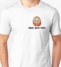 Make your wish - Daruma doll (RED) T-Shirt