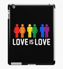 love is love - rainbow iPad Case/Skin