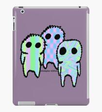 Three Silent Fuzzies iPad Case/Skin