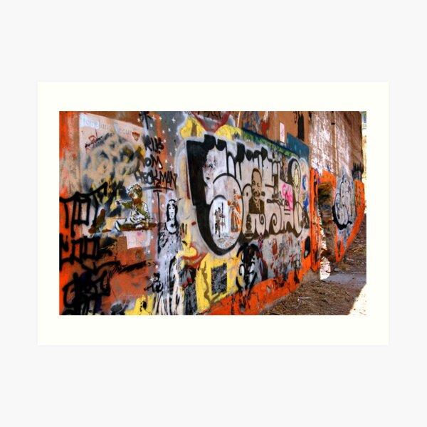 Urban Art Gallery Art Print