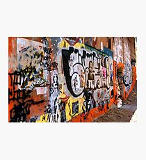 Urban Art Gallery Photographic Print