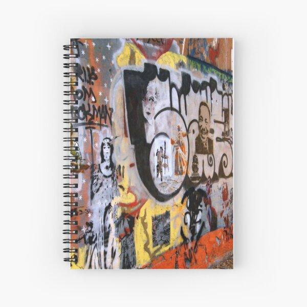 Urban Art Gallery Spiral Notebook