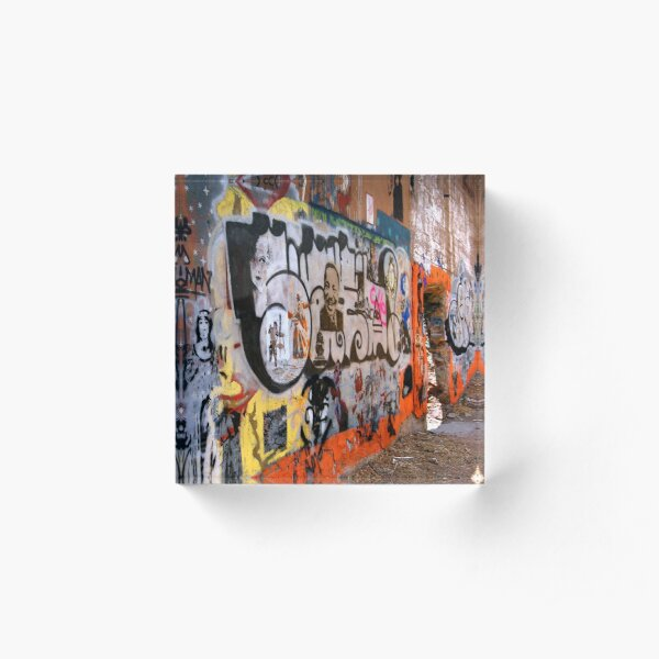Urban Art Gallery Acrylic Block