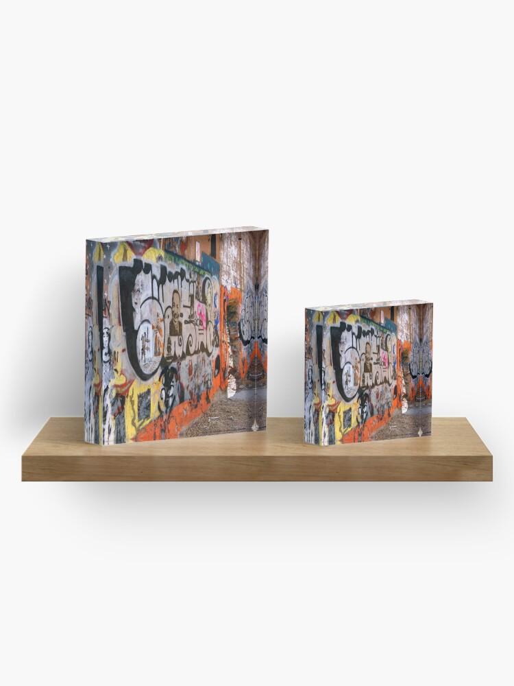 Alternate view of Urban Art Gallery Acrylic Block