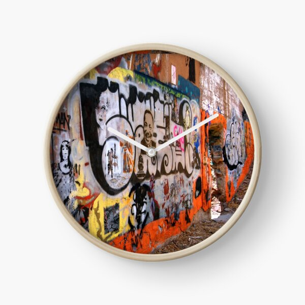 Urban Art Gallery Clock