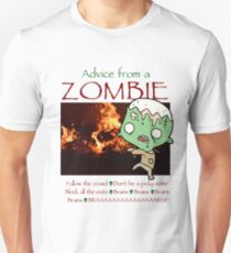 Advice from a Zombie Unisex T-Shirt