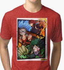 Boku no hero Academia - My hero Academy Tri-blend T-Shirt
