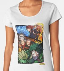 Boku no hero Academia - My hero Academy Women's Premium T-Shirt
