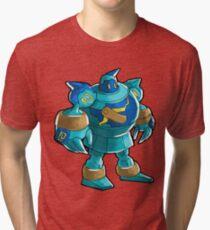 Golurk Tri-blend T-Shirt