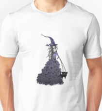 Purple Star Witch T-Shirt