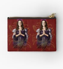 Saint Drusilla With Lilies Studio Pouch