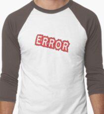 Error! Men's Baseball ¾ T-Shirt