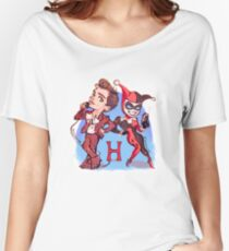 H and H - blue version Women's Relaxed Fit T-Shirt