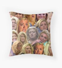 THE MANY MOODS OF GEMMA COLLINS  Throw Pillow