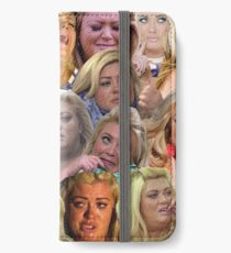THE MANY MOODS OF GEMMA COLLINS  iPhone Wallet/Case/Skin