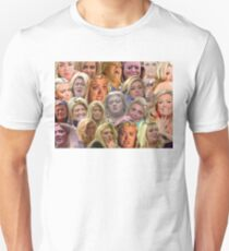 THE MANY MOODS OF GEMMA COLLINS  Unisex T-Shirt