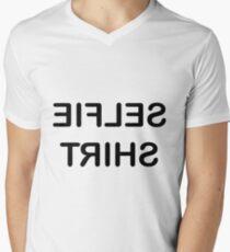 Selfie Shirt - black text T-Shirt