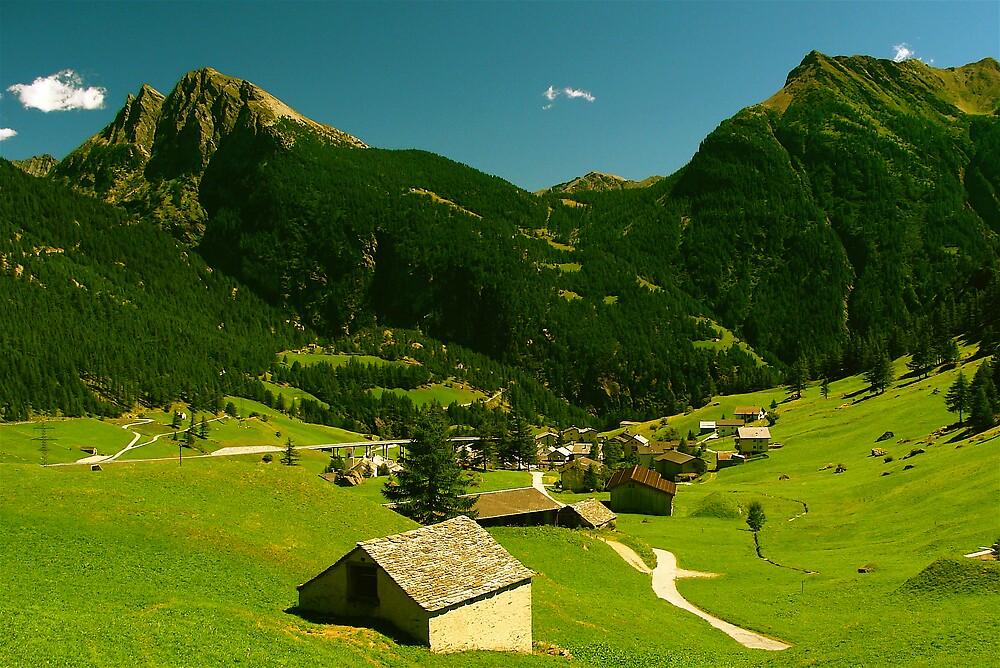 ... Simplon pass Switzewrland ... by anisja