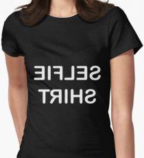 Selfie Shirt - white text T-Shirt