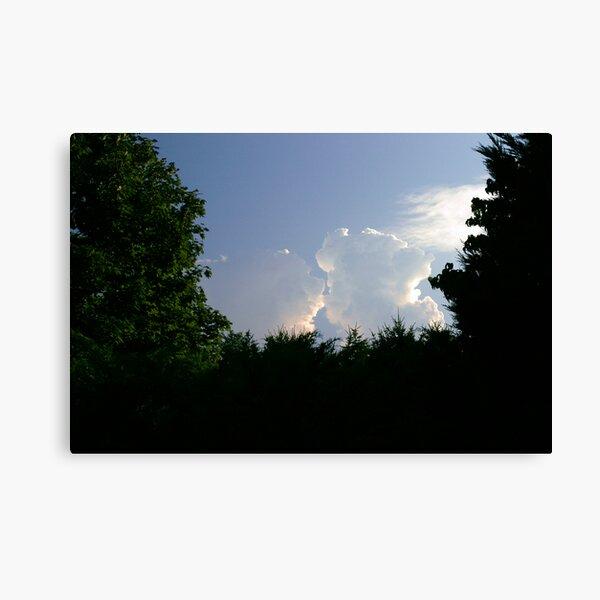 Kissin' Clouds Canvas Print