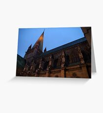 Nidaros Cathedral - Trondheim, Norway Greeting Card