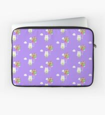 Cute Cat with balloons Rjlus Laptop Sleeve