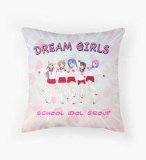 Dream Girls School Idols #2 Throw Pillow