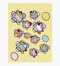 Japanese Balloons Pattern Decoration Photographic Print