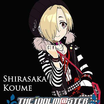 Idolm@ster CG - Shirasaka Koume by Spectre721