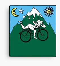 Bicycle Day Canvas Print