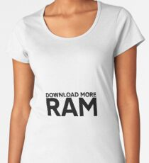 Download More Ram Women's Premium T-Shirt