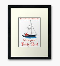 Jordan Peterson Party Boat group official shirt Framed Print