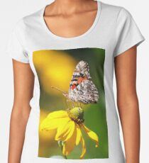 Painted Lady Butterfly III Women's Premium T-Shirt