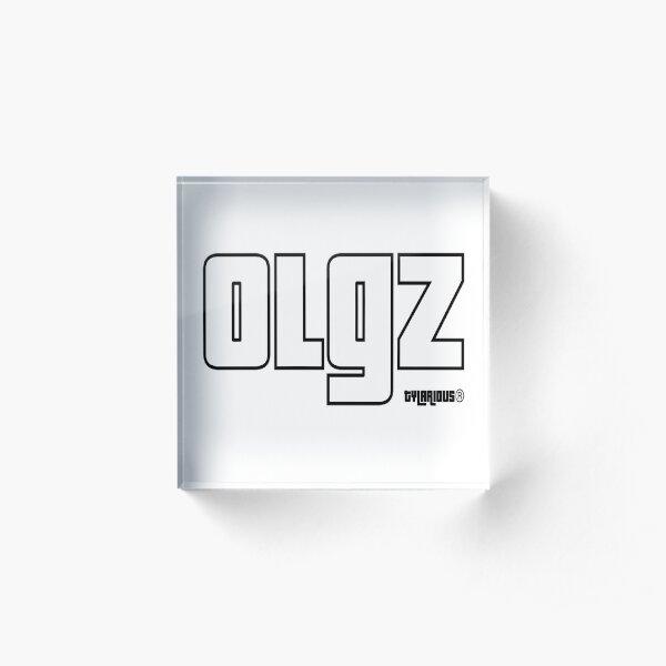 OLGZ White Acrylic Block