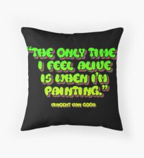Time painting equals living Floor Pillow