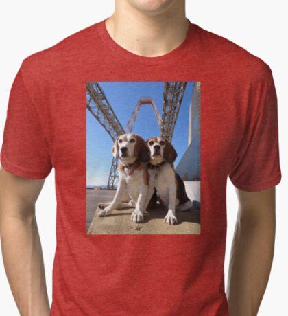 Indomitabeagle Tri-blend T-Shirt