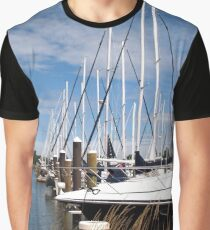 Masts all in a Row Graphic T-Shirt