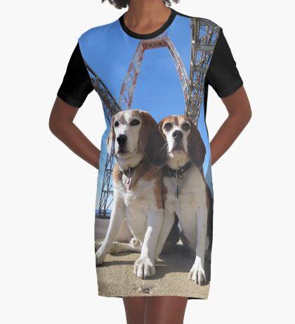 Indomitabeagle Graphic T-Shirt Dress
